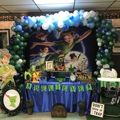 Welcome to Neverland - Peter Pan First Birthday