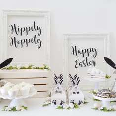 Black & White Easter Party - Easter