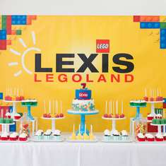 Lexis' 7th Legoland Party - Legos