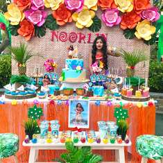 Noorlin's Awesome Moana Theme Party - Moana