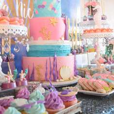 """Let's be Mermaids"" birthday party - Mermaid Party"