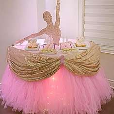 Ballerina Birthday Party - Ballerina