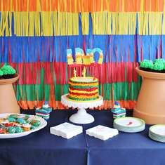 """Dos es Uno""- A Fiesta Inspired 1st Birthday Party - Fiesta / Mexican"
