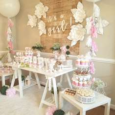 It's a Girl Baby Shower! - None