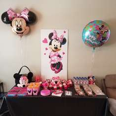 Brynn's Minnie Mouse 2nd birthday party  - Mickey Mouse / Minnie Mouse