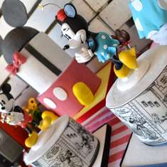 Retro Mickey and Minnie Mouse party - Mickey Mouse / Minnie Mouse