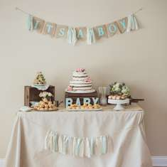 Vintage Baby Shower - None