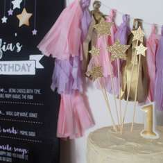 Twinkle Twinkle Little Star First Birthday - 1st Birthday