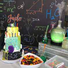 Jude's Mad Science Party - Science