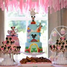 Hailey's 2nd Birthday - Minnie Mouse