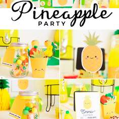 Pineapple party kit - pineapple