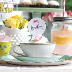 Tea & Tiaras - Tea-themed Brunch & Headpiece Crafts