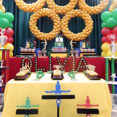 Gymnastic birthday bash - Gymnastics