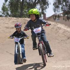 Lance's BMX 8th Birthday party - BMX birthday