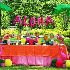 Aloha High School Graduation Party - Luau, Hawaii, Beach