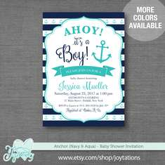 Anchor Baby Shower - Anchor Baby Shower