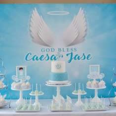 Angel/Heaven Themed Baptism - Angel / Heaven