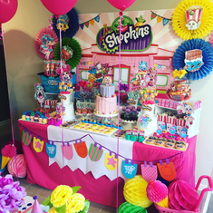 Tiffany's 7th Shopkin Party - Shopkins