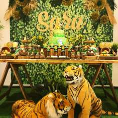 Sara's Safari Baby Shower - Jungle , Safari Theme