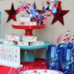 Stars and Stripes 4th of July Party - 4th of July