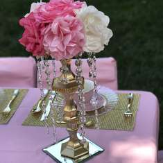 Princess Carley's Garden Tea Party - Children's Garden Tea Party