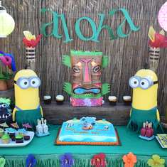 Despicable Me 3 Luau Party - Despicable Me 3