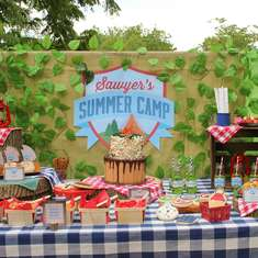 Sawyer's Summer Camp 5th Birthday Adventure - Camping / Summer Camp