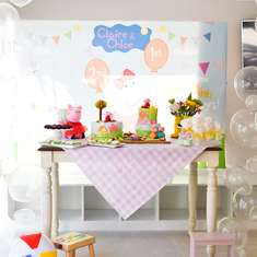 Claire & Chloe's Peppa Pig Pool Party  - Peppa Pig