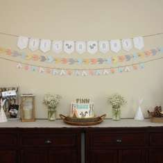 Finn's Tribal Baby Shower (Squirrel) - Tribal