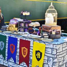Sadie's Harry Potter Hogwarts Express Party - Harry Potter