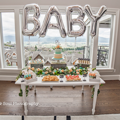 Bright Sky Events Baby Shower Party - Gender Neutral Baby Shower