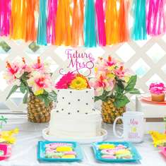 Tropical Bridal Shower Party - Tropical