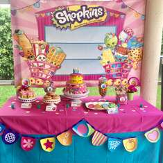 Natalie's Shopkins 5th Birthday Party - Shopkins