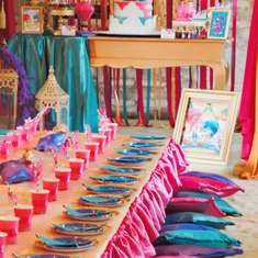 Ranya Shimmer and Shine 6th birthday party - Shimmer nad shine