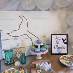 Nautical Mermaid Birthday Party - Mermaids