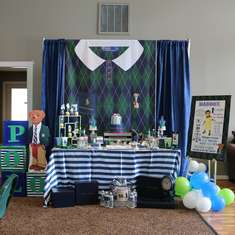 Vintage Polo Bear First Birthday Party - Polo Ralph Lauren Inspired