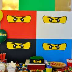 Kellen's Ninjago 6th Birthday Party - Ninjago