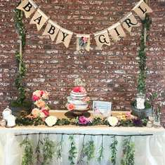 Stella Baby Shower - Garden