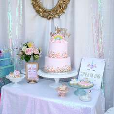 Magical 2nd Birthday Celebration - Unicorns