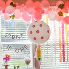Sydney's First Birthday Party - Boho Floral