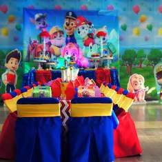 Paw Patrol for Joaquin  birthday party - Paw Patrol