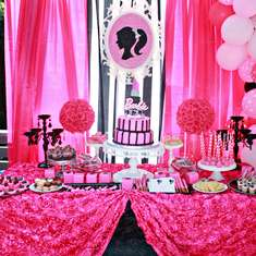 Sophie's Barbie spa party - Barbie, Spa
