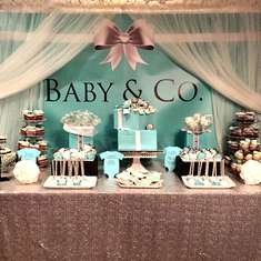 Baby & Co - Tiffany & Co Baby shower