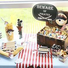 Beware of Pirates Birthday Parrrty - Pirates