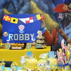 Robby's Sixth Birthday - Spongebob Squarepants