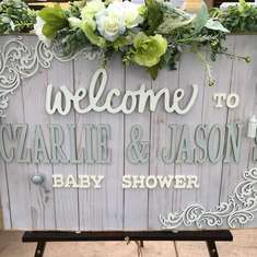 Czarlie and Jason's Baby Shower  - Rustic