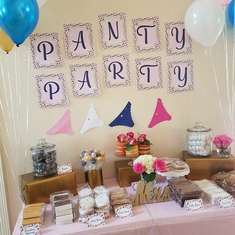 Tabitha's Panty Party  - None