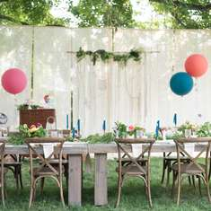 Boho Backyard Brunch Birthday - Bohemian