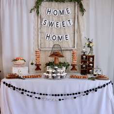 "Sara and Sep's housewarming party - ""Home Sweet Home"""