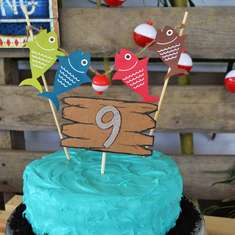 Carter & Clayton's Gone Fishin' Birthday Party - Fishing